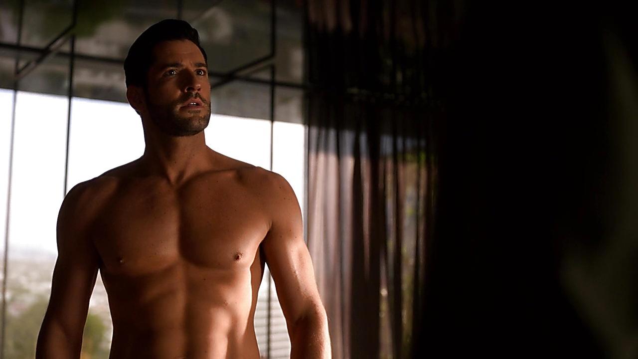 Tom Ellis sexy shirtless scene May 8, 2019, 10am