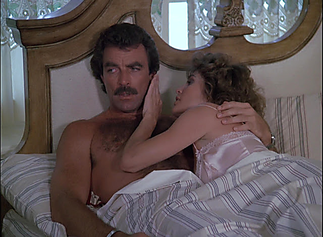 Tom Selleck sexy shirtless scene April 10, 2021, 1pm