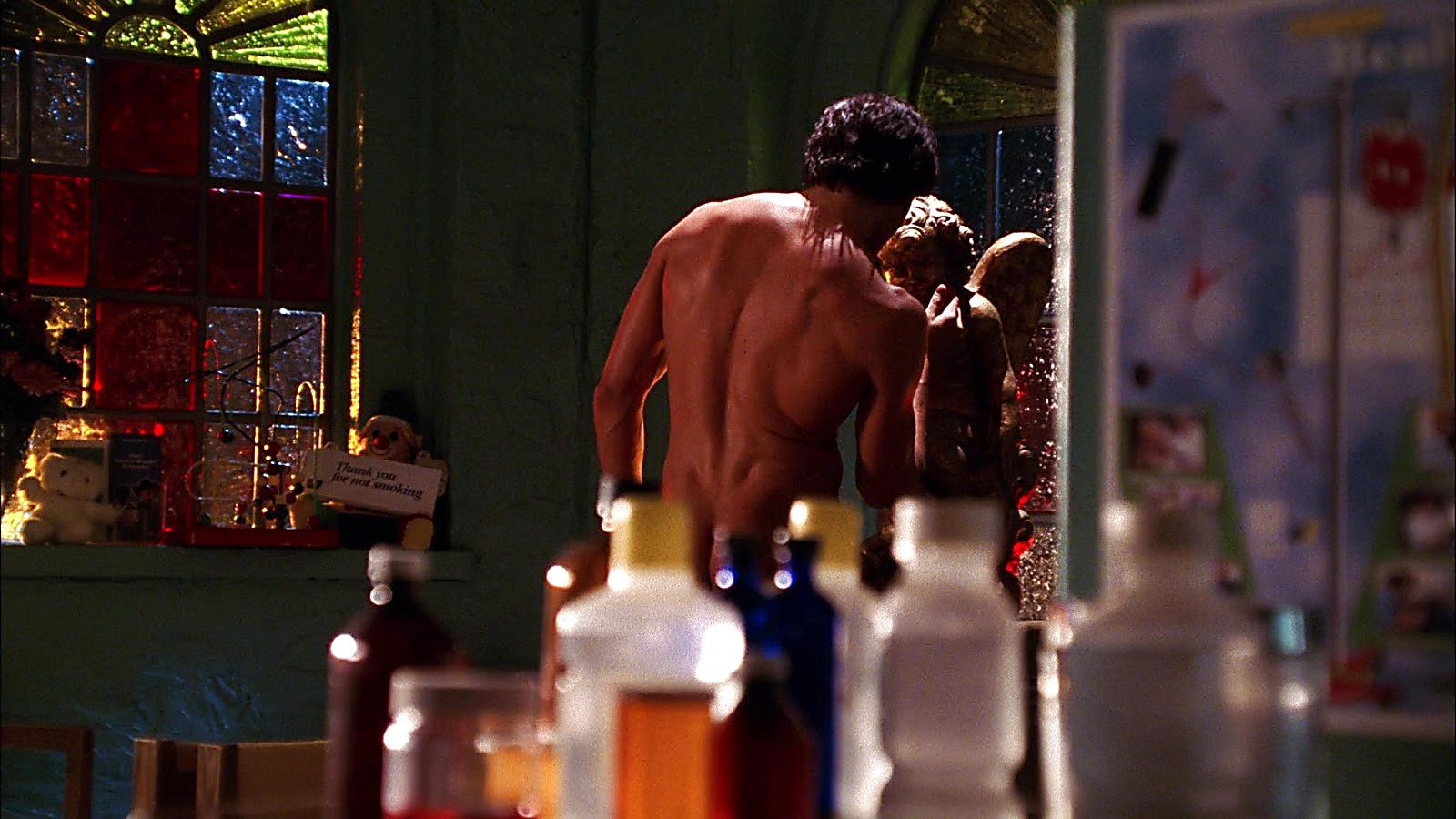 Tom Welling sexy shirtless scene April 12, 2020, 9am