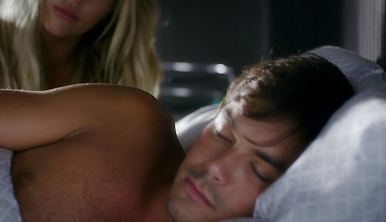 Tyler Blackburn latest sexy shirtless scene April 19, 2017, 1pm