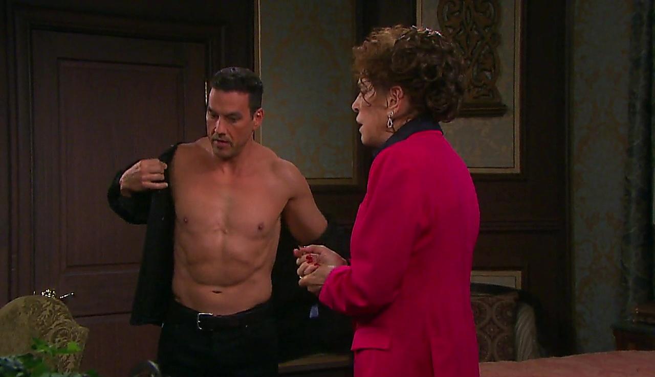 Tyler Christopher sexy shirtless scene January 23, 2018, 1pm