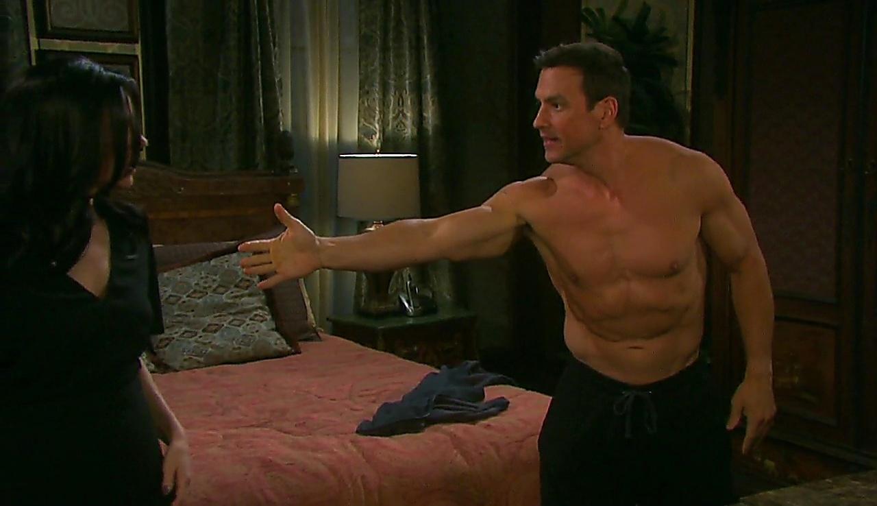 Tyler Christopher sexy shirtless scene February 27, 2018, 1pm