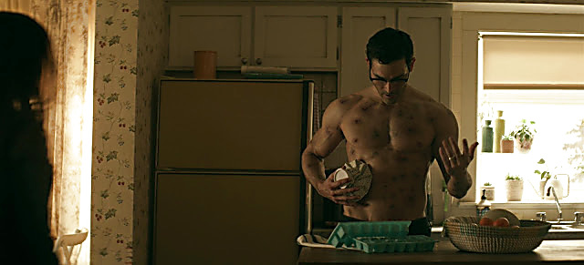 Tyler Hoechlin sexy shirtless scene June 10, 2021, 4am