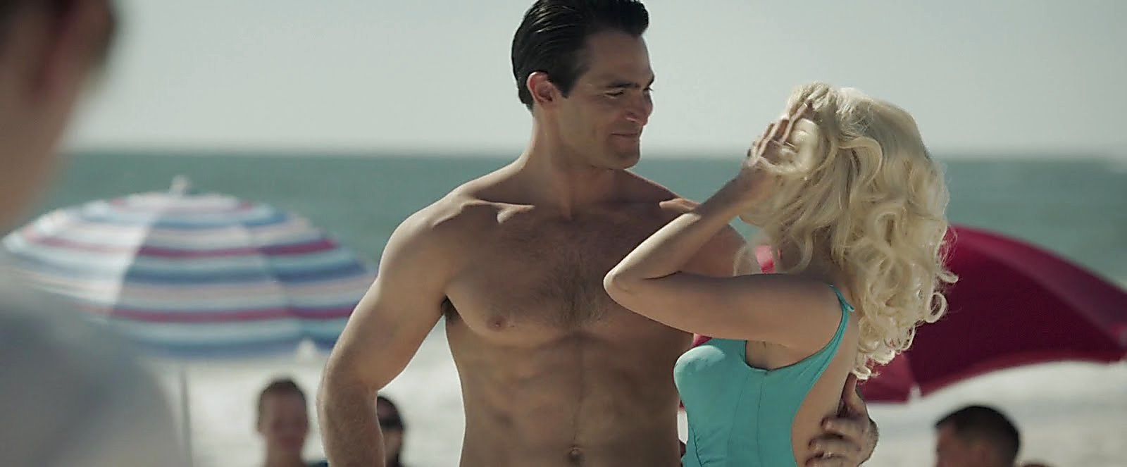 Tyler Hoechlin sexy shirtless scene January 15, 2019, 1pm