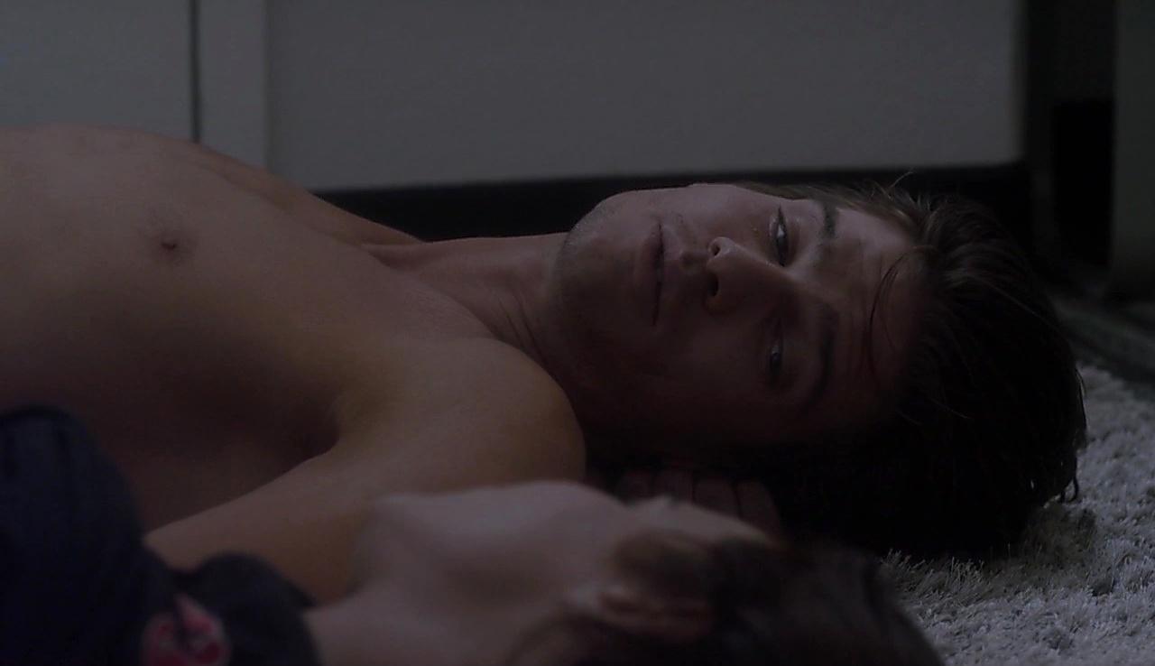 Tyler Johnson sexy shirtless scene November 15, 2017, 4pm