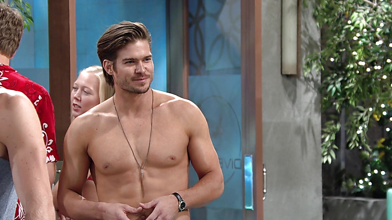 Tyler Johnson sexy shirtless scene August 22, 2019, 8am
