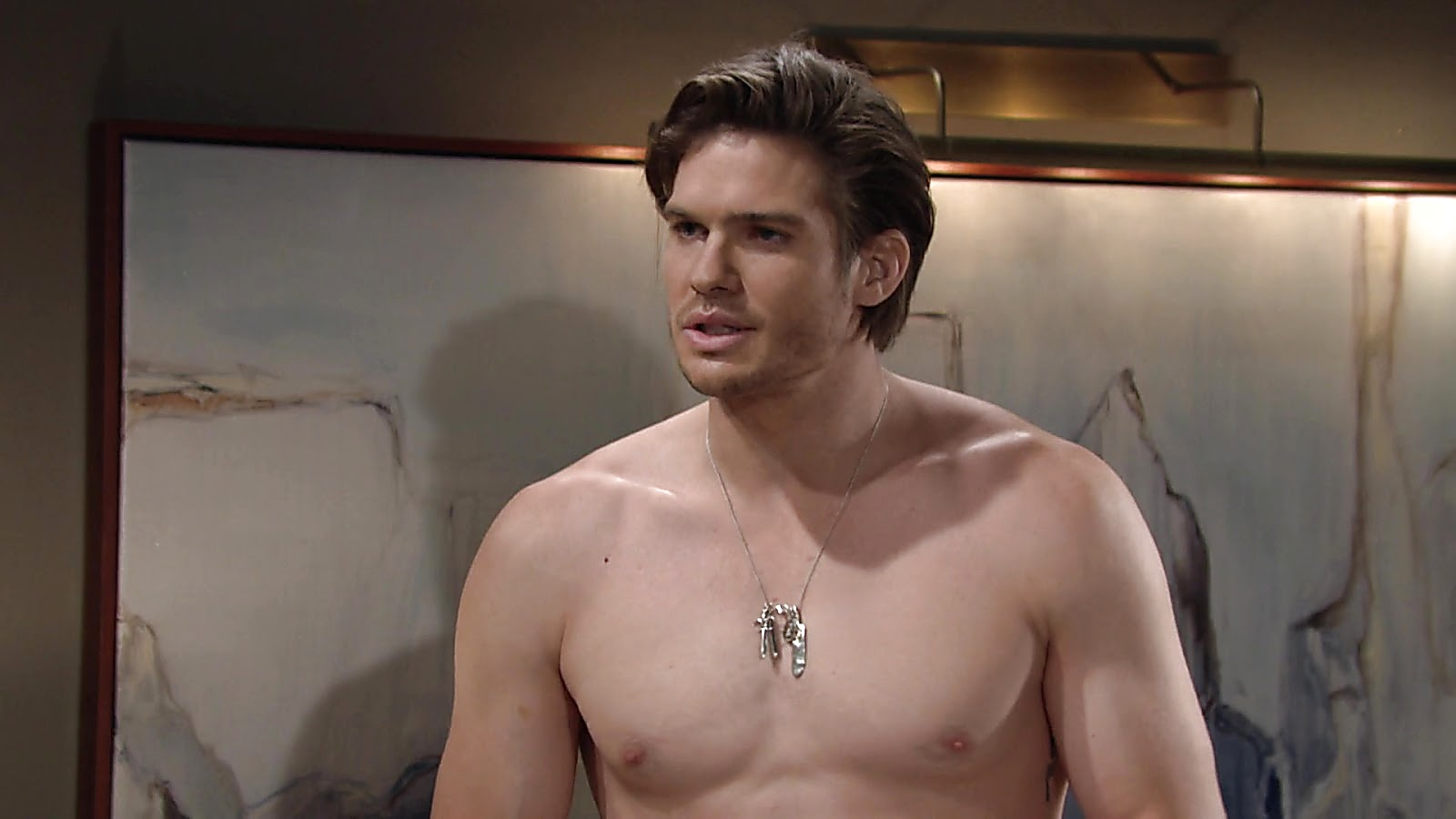 Tyler Johnson sexy shirtless scene September 12, 2020, 9am