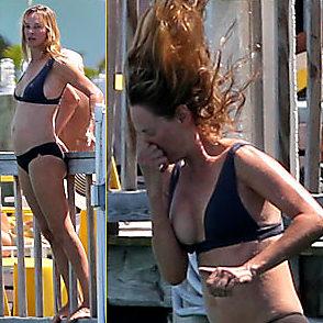 Uma Thurman latest sexy shirtless April 8, 2015, 11am
