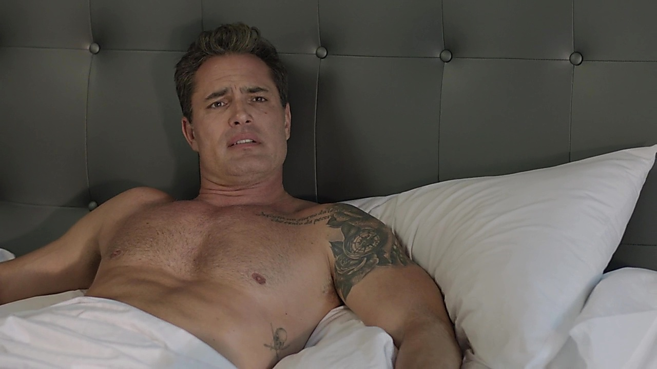 Victor Webster sexy shirtless scene March 24, 2019, 11am