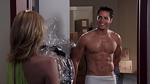 Victor Webster sexy shirtless scene February 18, 2021, 4am
