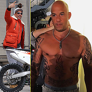 Vin Diesel latest sexy shirtless February 22, 2016, 12pm