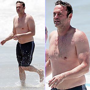 Vince Vaughn latest sexy shirtless July 28, 2015, 4pm