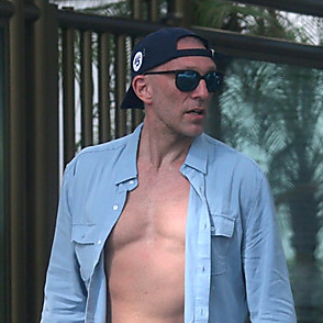 Vincent Cassel latest sexy shirtless December 26, 2017, 3pm