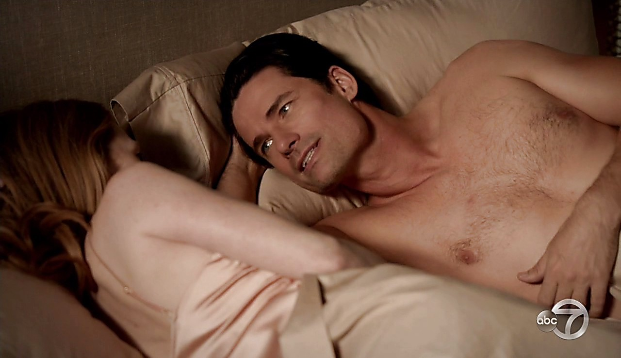 Warren Christie sexy shirtless scene April 14, 2017, 1pm