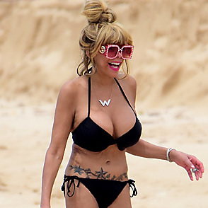 Wendy Williams latest sexy shirtless September 12, 2017, 8pm