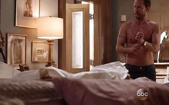 Will Chase sexy shirtless scene November 4, 2014, 8pm