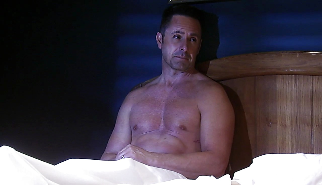 William Devry latest sexy shirtless scene April 20, 2017, 12pm