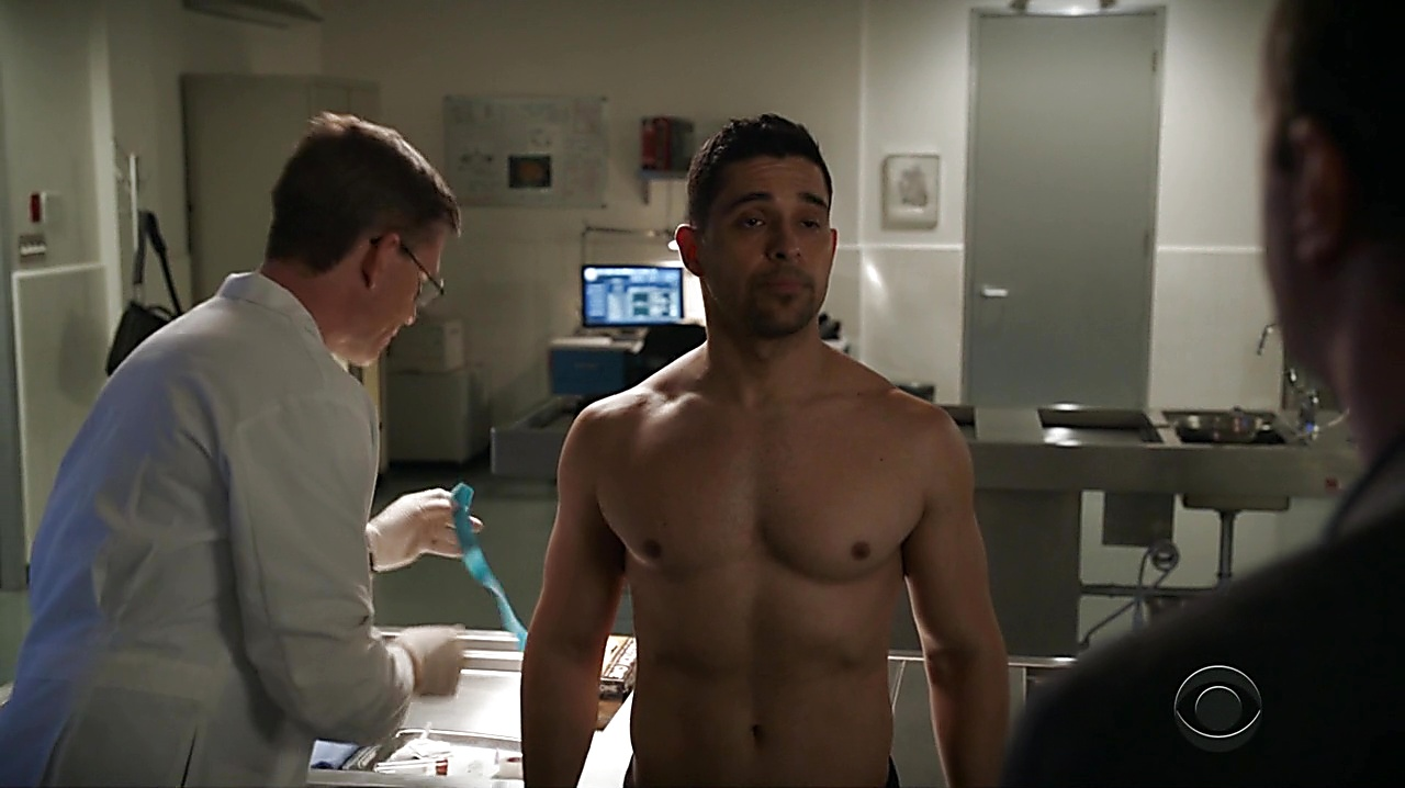 Wilmer Valderrama sexy shirtless scene April 3, 2019, 9am