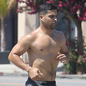 Wilmer Valderrama latest sexy shirtless September 2, 2018, 10am