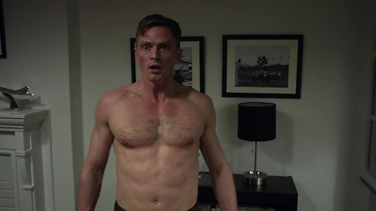 Wilson Bethel sexy shirtless scene October 22, 2018, 10am