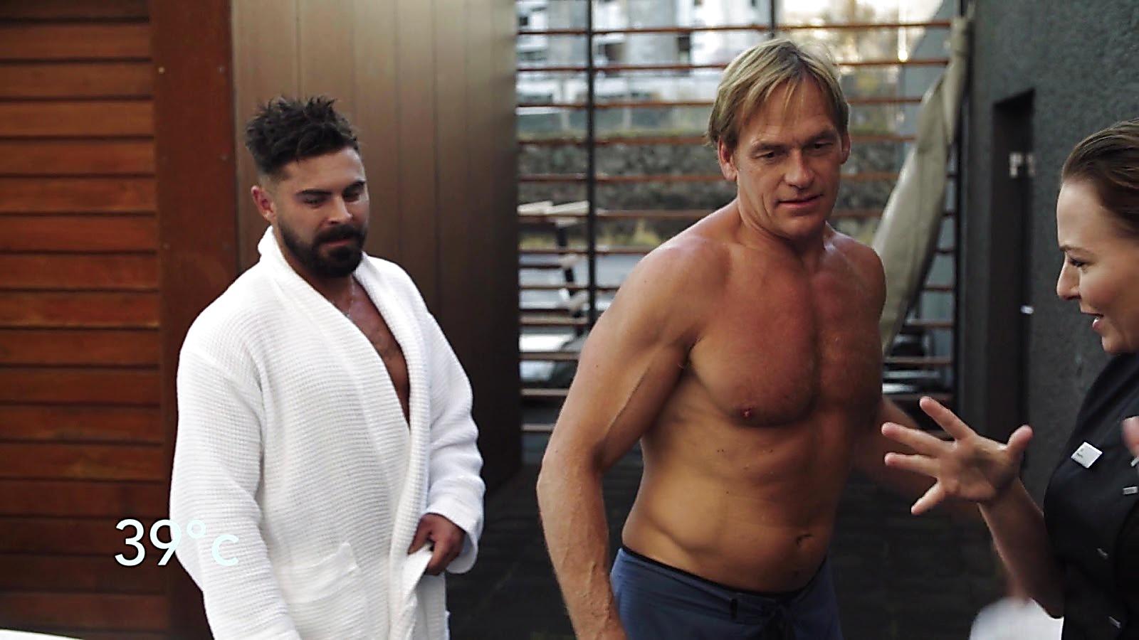 Zac Efron sexy shirtless scene July 11, 2020, 8am