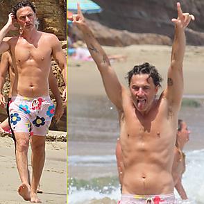 Zach Braff latest sexy shirtless July 12, 2021, 10am
