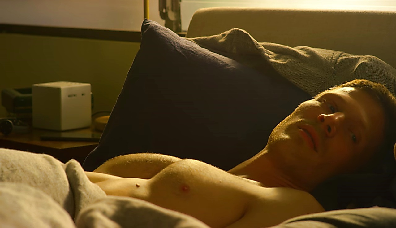 Zach Gilford sexy shirtless scene November 21, 2017, 2pm