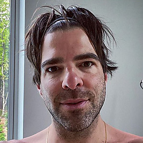 Zachary Quinto latest sexy shirtless May 24, 2020, 3pm