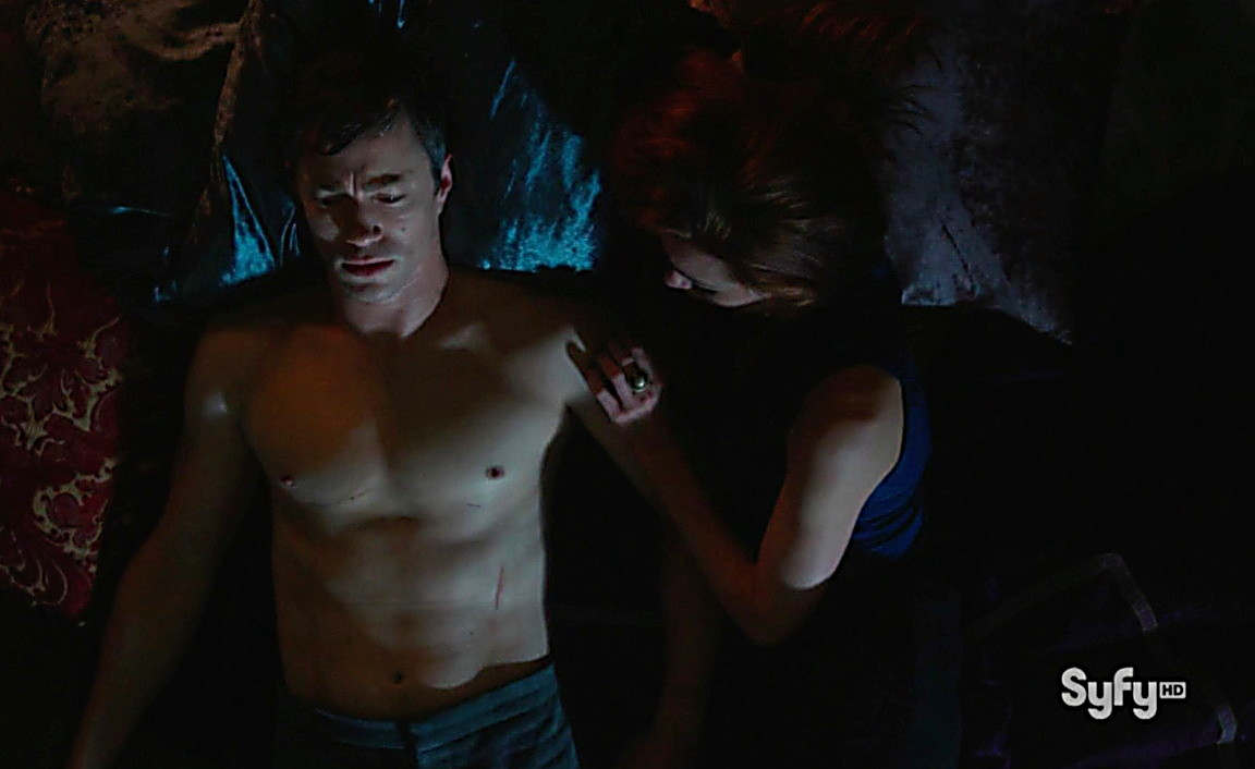 Christopher Egan sexy shirtless scene August 3, 2014, 3am