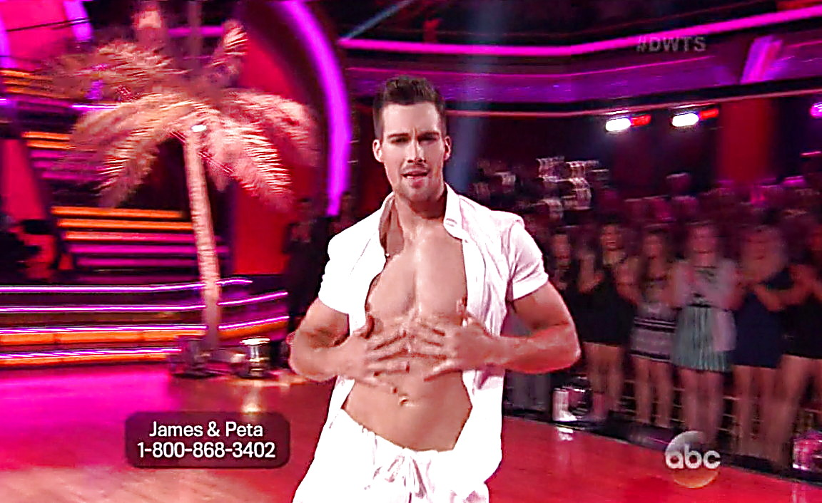 James Maslow sexy shirtless scene April 5, 2014, 8pm