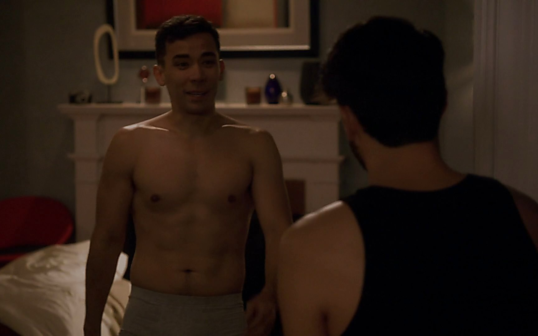 Matt Mcgorry sexy shirtless scene January 3, 2015, 11pm