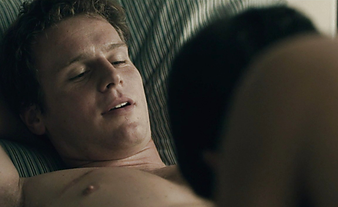 Jonathan Groff sexy shirtless scene February 23, 2014, 11pm