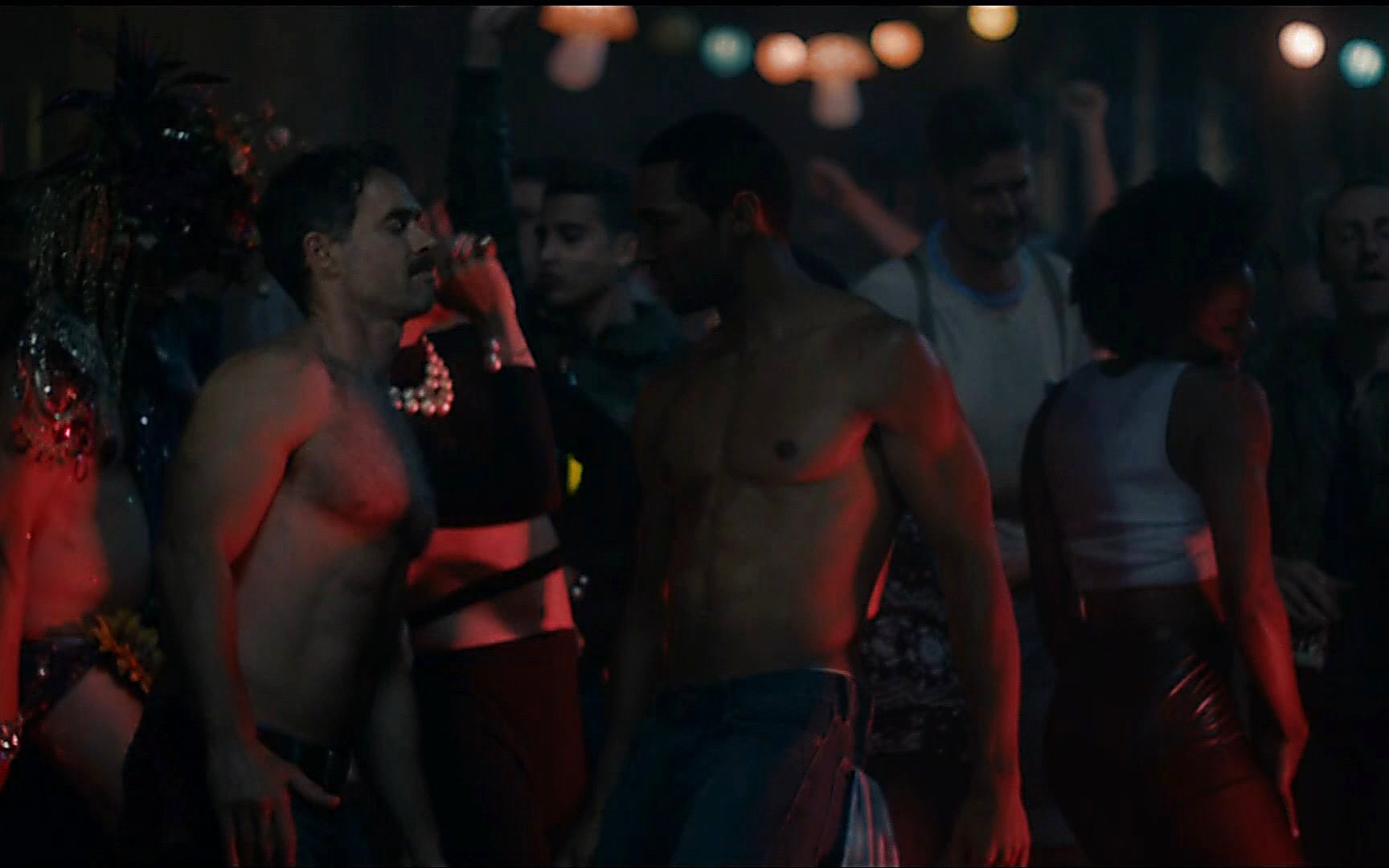 Russell Tovey sexy shirtless scene January 12, 2015, 12am