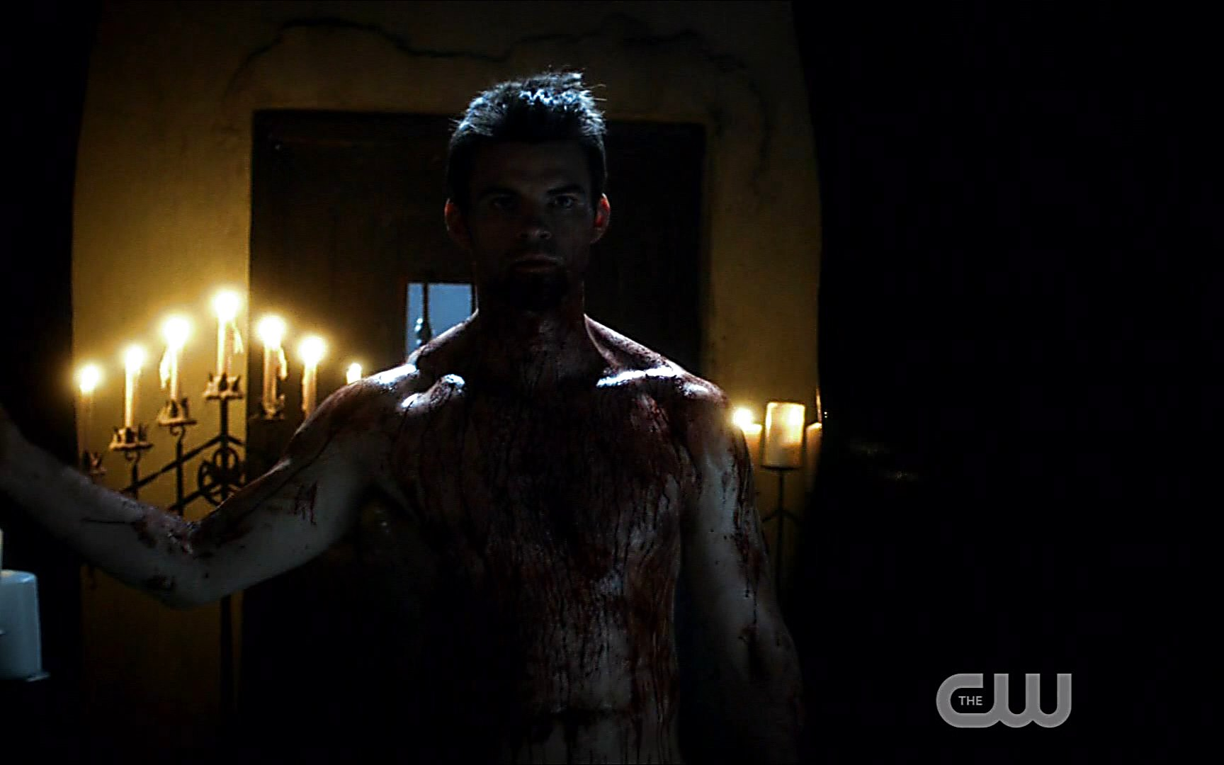 Daniel Gillies sexy shirtless scene November 4, 2014, 1am