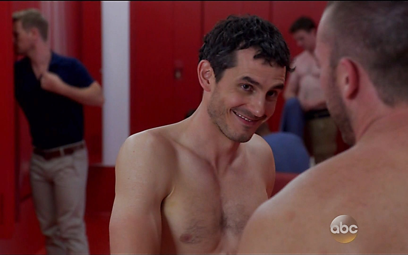 Jake Mclaughlin sexy shirtless scene October 18, 2015, 2am