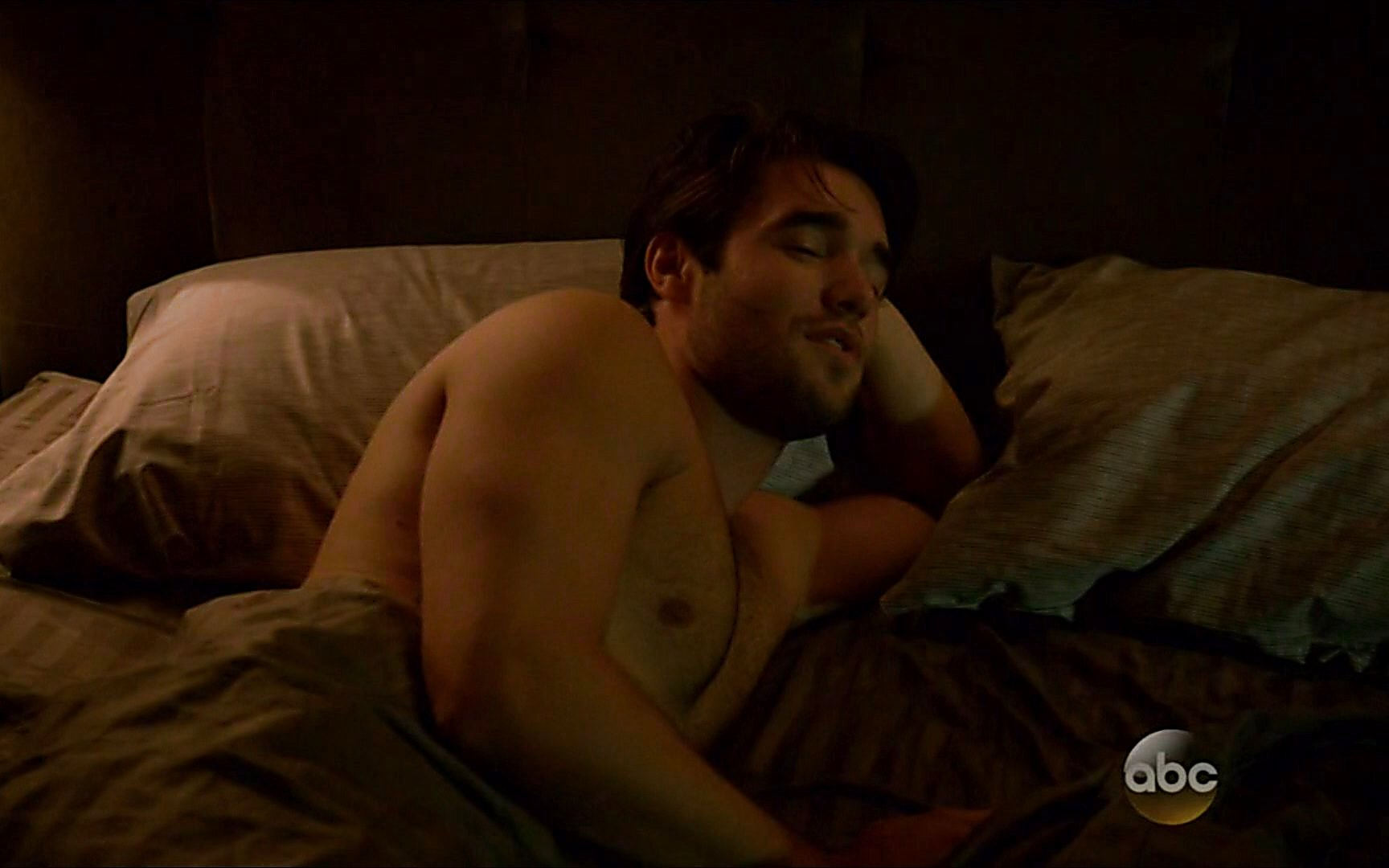 Joshua Bowman sexy shirtless scene November 4, 2014, 1am