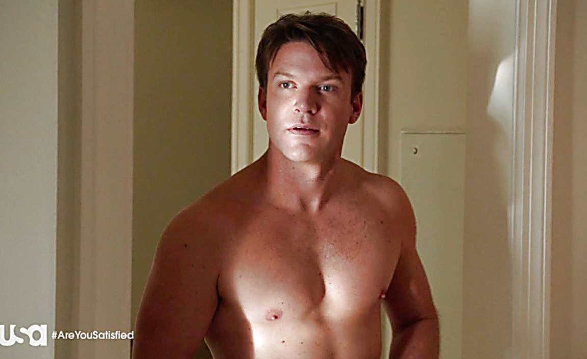 Blair Redford sexy shirtless scene August 3, 2014, 4am