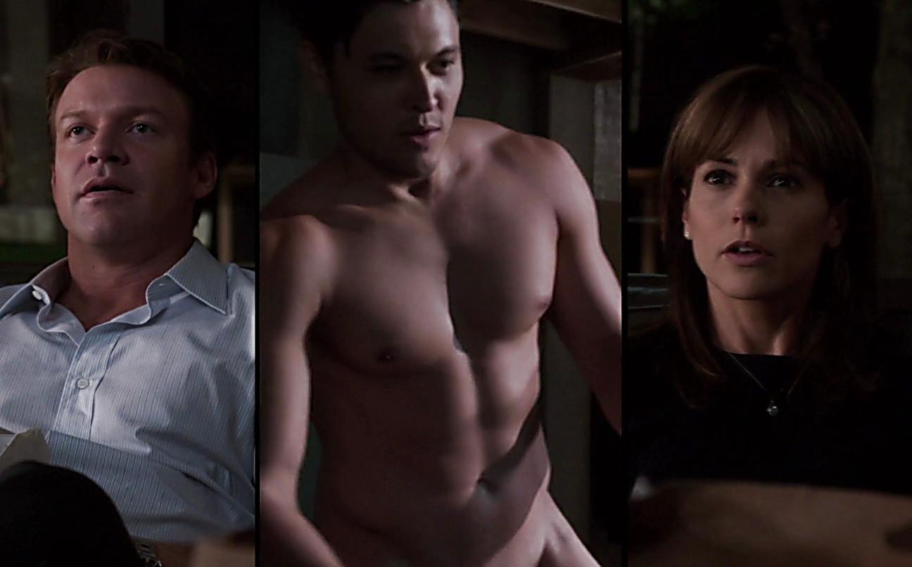 Matt Passmore sexy shirtless scene August 3, 2014, 4am