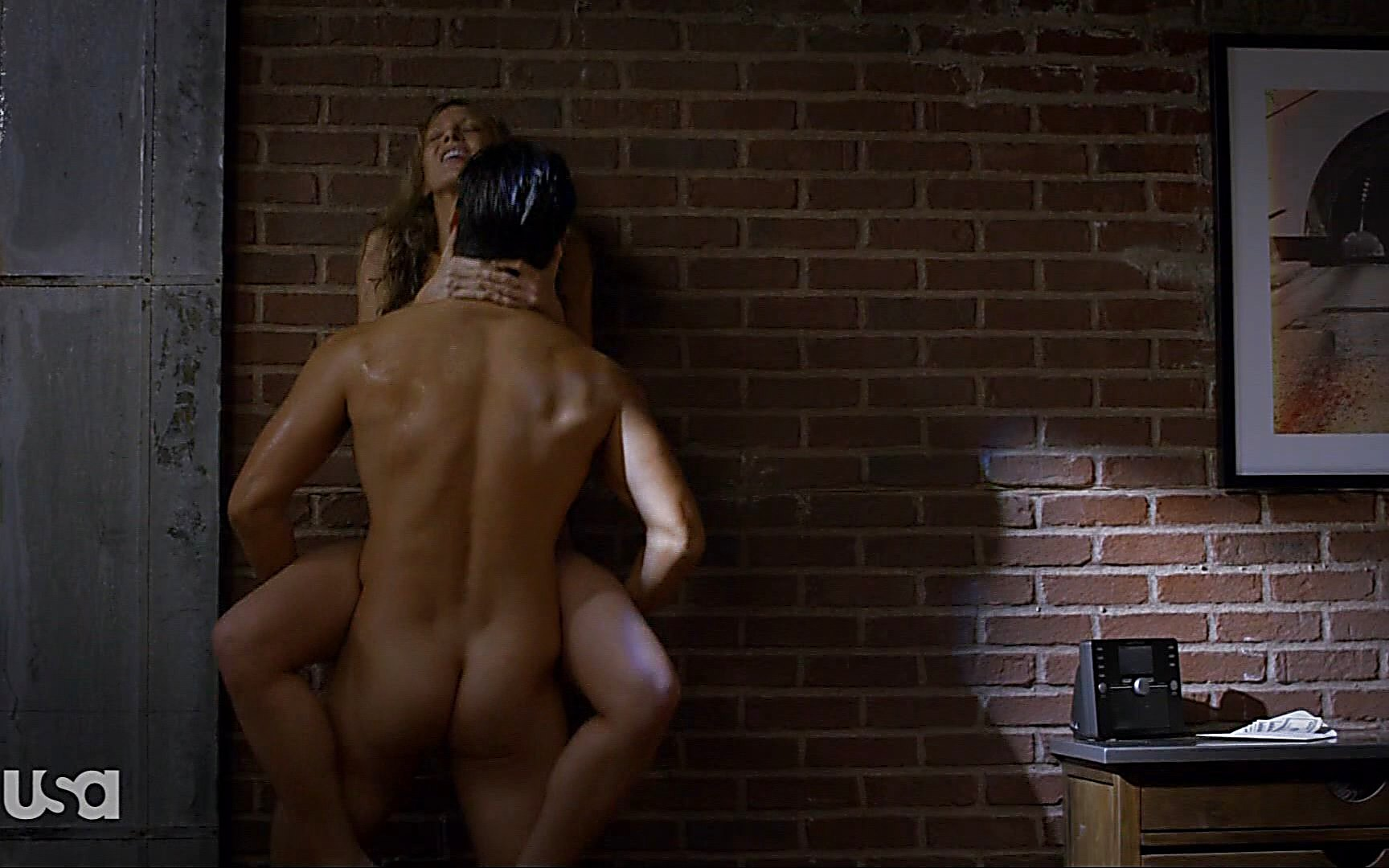 Blair Redford sexy shirtless scene October 18, 2015, 6pm