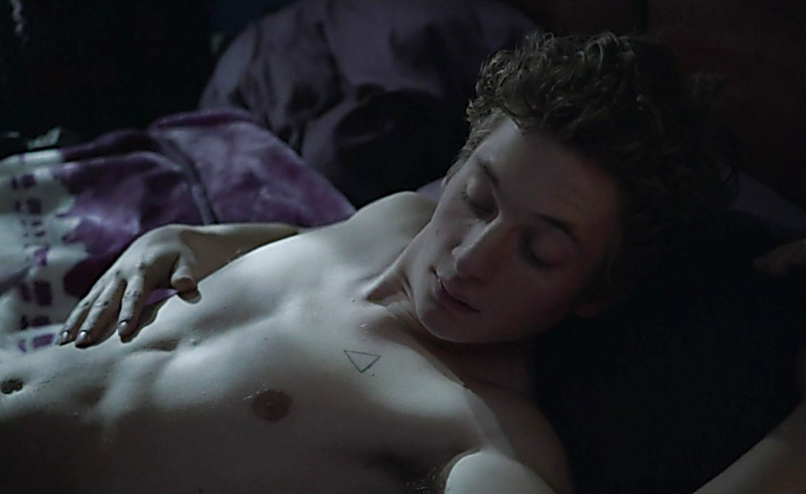 Cameron Monaghan sexy shirtless scene February 24, 2014, 2am