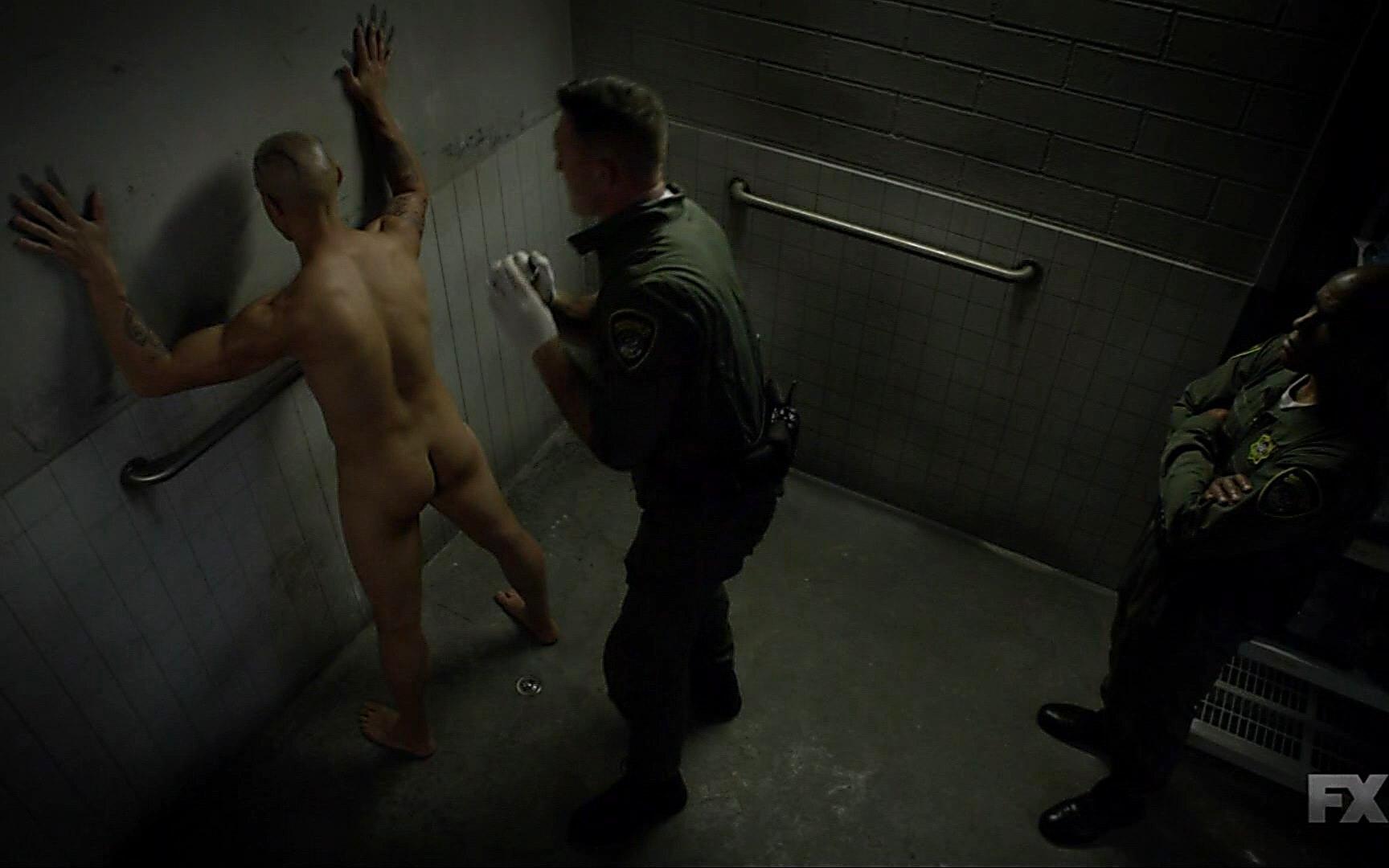 Theo Rossi sexy shirtless scene November 6, 2014, 1am