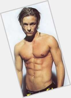 Adam Rickitt blonde hair & hairstyles Athletic body,