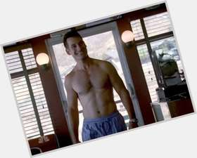 Adrian Pasdar dark brown hair & hairstyles Athletic body,