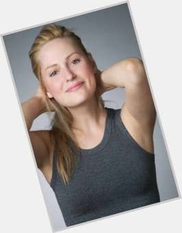 Aimee Mullins blonde hair & hairstyles Athletic body,
