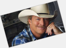 Alan Jackson blonde hair & hairstyles Athletic body,