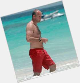 Alan Shearer blonde hair & hairstyles Athletic body,
