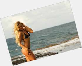 Alana Blanchard blonde hair & hairstyles Athletic body,