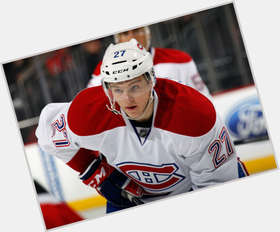 Alex Galchenyuk light brown hair & hairstyles Athletic body,