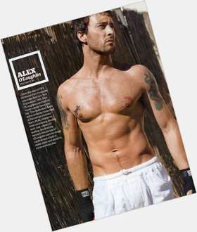Alex O Loughlin dark brown hair & hairstyles Athletic body,