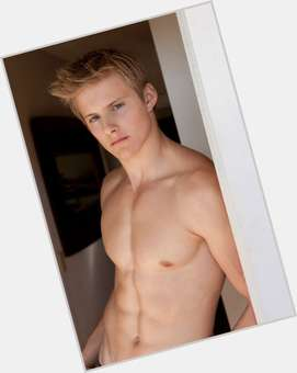 Alexander Ludwig blonde hair & hairstyles Athletic body,
